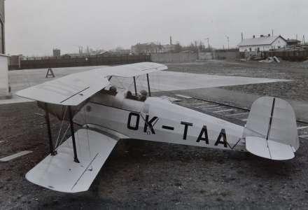 Tatra vyráběla ve Studénce letadla. Uplynulo 80 roků od slavného letu