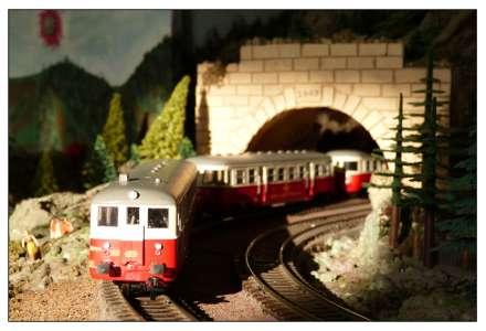 Novinka na modelové železnici
