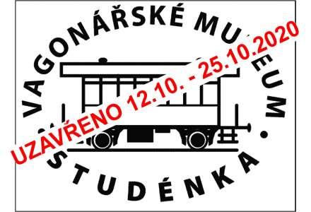 Vagonářské muzeum uzavřeno od 12.10. do 25.10.2020